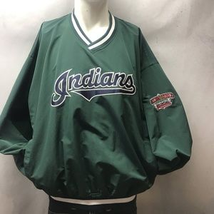 Rare 90s Cleveland Indians Jacobs Field Pullover